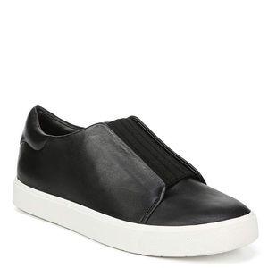 Black Vince Cantara slip on sneaker
